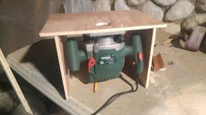 Cheap Table Saws Easy To Make Small Router Table 4 Steps