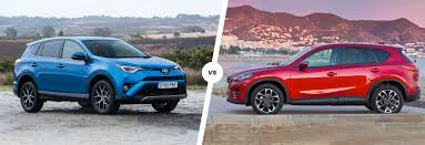 mazda x5 toyota rav4 vs mazda cx 5 compared carwow