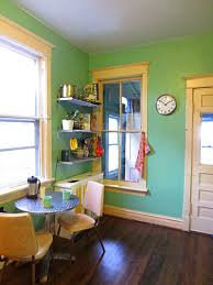 kitchen design green wall idolza