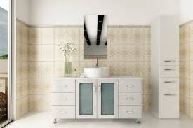 Tall Bathroom Cabinet With Mirror by Fair Design Ideas Using Rectangular White Sinks And Rectangular