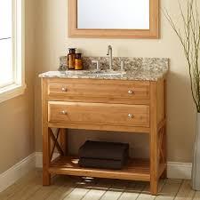 narrow depth bathroom vanity with sink 36