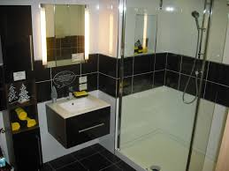 black bathroom ideas open shower ideas in modern home design and decorations ideas
