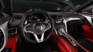 acura inside 2017 acura nsx review autoevolution