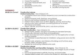 Construction Worker Resume Sample Construction Laborer Resume Sample Click Here To Download This