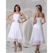 short mini wedding dresses knee length bridal dresses