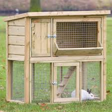 Extra Large Rabbit Cage Boomer U0026 George Elevated Outdoor Rabbit Hutch White Wash