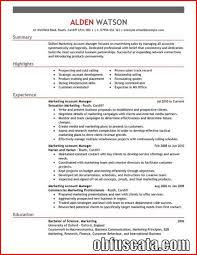 account manager resume account manager resume