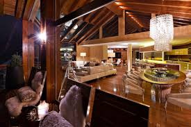 Mountain Home Interiors by Six Star Luxury Boutique Chalet Zermatt Peak
