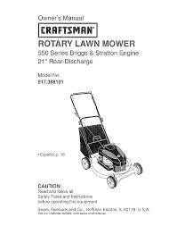 craftsman lawn mower 917 388191 user guide manualsonline com
