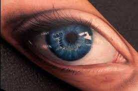 amazing 3d eyeball tattoo on forearm by john anderton