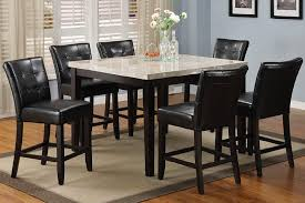 Marble Top High Table Set