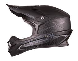 helmets for motocross amazon com o u0027neal 3 series helmet black large automotive