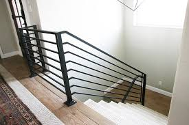 How To Install Stair Banister All The Details On Our New Horizontal Stair Railing Chris Loves