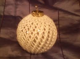 how knitting rescued me and a knitted ornament