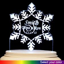 personalized cake topper personalized acrylic cake topper snowflake 023 4464