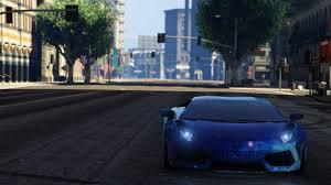 Blue Lamborghini Aventador - blue galaxy livery for lamborghini aventador liberty walk