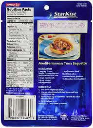 King Oscar Sardines Mediterranean Style - amazon com starkist gourmet selects mediterranean style tuna