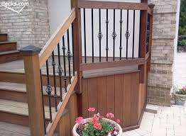 Railings And Banisters Decks Com Deck Railing Designs