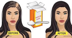 stop womens chin hair growth baking soda can stop hair loss and rejuvenates the hair and it