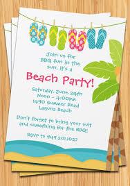 party invitations amusing beach party invitations ideas beach