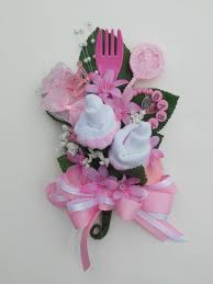 Baby Sock Corsage Baby Shower Corsage Baby Bootie Corsage New Mom Pink