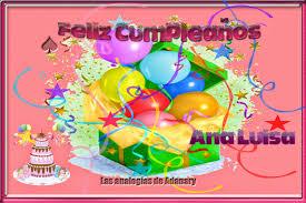 imagenes que digan feliz cumpleaños tia ana las analogías de adanary mayo 2014