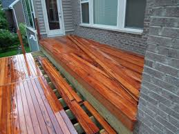 Brazilian Koa Tigerwood by Brazilian Tigerwood Deck Anderson Township Oh Area
