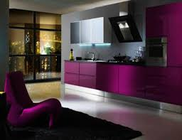 kitchen wonderful purple two tone kitchen cabinets with