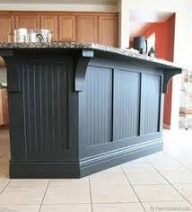 painted kitchen island how to update a builder grade kitchen island with trim and paint
