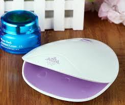 ultraviolet light therapy machine online cheap 2017 new mini nail dryer shell shape 6 led light