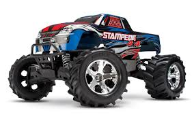 monster truck video clips amazon com traxxas stampede 4x4 1 10 scale 4wd monster truck
