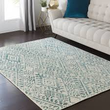 Teal Area Rug Bungalow Puran Teal Area Rug Reviews Wayfair