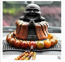 buddha worship carbon carving car security and peace car ornaments