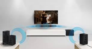 38 2 1 home theater sound bar with wireless subwoofer samsung hw k360 flat 2 1 channel sound bar with wireless subwoofer