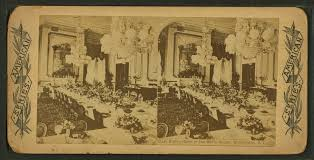 file state dining room in the white house washington d c from