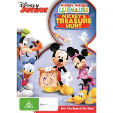 mickey mouse clubhouse mickey u0027s treasure hunt dvd big w