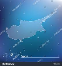 Map Of Cyprus Map Cyprus Vector Illustration Stock Vector 259148687 Shutterstock