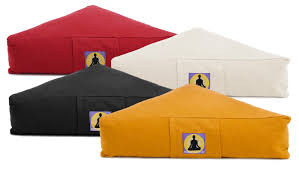 meditation cushion triangle buy online at yogishop yoga