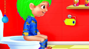 fun baby care learn colors games time to go to toilet time