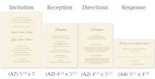 standard size of invitation card paperinvite