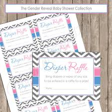 diaper raffle pink and blue gender reveal diaper raffle