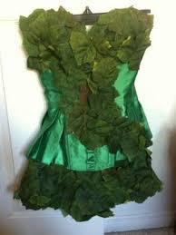 Poison Ivy Halloween Costume Diy Poison Ivy Arm Cuff Slave Bracelet Leaves Inmyfairygarden