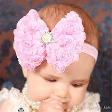 flower bands baby hair band hair bands crochet flower hair bands spandex chair
