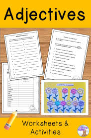 Identifying Adverbs And Adjectives Worksheets Die Besten 10 Nouns And Adjectives Ideen Auf Pinterest