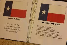 Texas Flag Pledge My Spare Time Raising Rock Stars Preschool Letter L Number 1