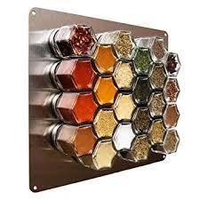 barattoli portaspezie metal wall plate portaspezie magnetico supporto da parete in