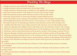 christian wedding invitation wording in english indian personal wedding invitation wordings for friends complete