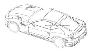 ferrari logo sketch mysterious ferrari patent photos probably show one off sp ffx