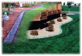 concrete landscape curbing green bay appleton wi