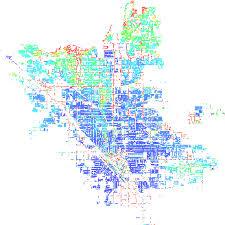 california map population density fresno california ca profile population maps real estate